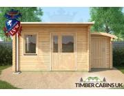 Log Cabin Calderdale 5.5m x 4m 004