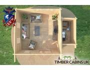 Log Cabin Calderdale 5.5m x 4m 006