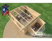 Log Cabin Calderdale 5.5m x 4m 005
