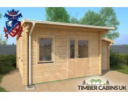 Log Cabin Calderdale 5.5m x 4m 002