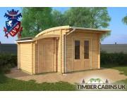 Log Cabin Cardiff 4.5m x 3.5m 001
