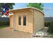 Log Cabin Cardiff 4.5m x 3.5m 003