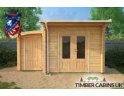 Log Cabin Cardiff 4.5m x 3.5m 004
