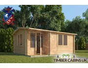 Log Cabin Carmarthenshire 5m x 4m 001