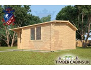 Log Cabin Carmarthenshire 5m x 4m 002