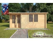 Log Cabin Carmarthenshire 5m x 4m 003