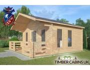 Log Cabin Caton 5m x 4m 002