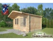 Log Cabin Chatburn 4m x 3m 002