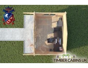 Log Cabin Chatburn 4m x 3m 004