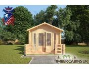 Log Cabin Chelmsford 3m x 3m 003