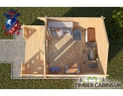 Log Cabin Chelmsford 3m x 3m 004