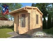Log Cabin Cheltenham 2.35m x 2.35m 002