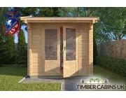 Log Cabin Cheltenham 2.35m x 2.35m 003