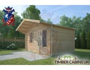 Log Cabin Chipping 4m x 3m 002