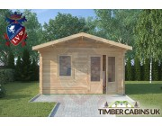 Log Cabin Chipping 4m x 3m 003