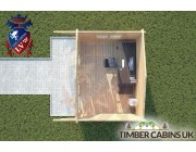 Log Cabin Chipping 4m x 3m 004