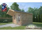 Log Cabin Chorley 3m x 4m 002
