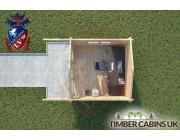 Log Cabin Chorley 3m x 4m 004