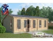 Log Cabin Cleveleys 7.5m x 5.5m 001