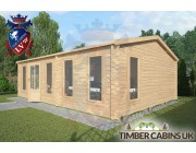 Log Cabin Cleveleys 7.5m x 5.5m 002