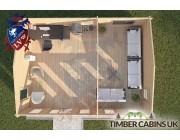 Log Cabin Cleveleys 7.5m x 5.5m 004