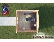 Log Cabin Clitheroe 3m x 3m 004