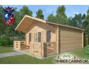 Log Cabin Cockerham 5m x 5m 002