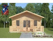 Log Cabin Cockerham 5m x 5m 003