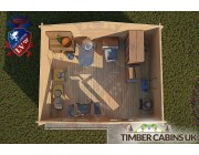 Log Cabin Colchester 5m x 4m 004