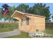 Log Cabin Colne 3m x 3m 002