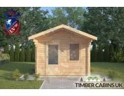 Log Cabin Colne 3m x 3m 003