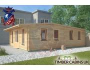 Log Cabin Conway 5.8m x 8m 002
