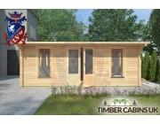 Log Cabin Conway 5.8m x 8m 003