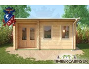 Log Cabin Coventry 5m x 3.5m 005