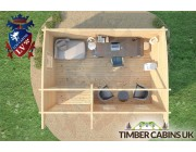 Log Cabin Coventry 5m x 3.5m 007