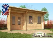 Log Cabin Coventry 5m x 3.5m 002