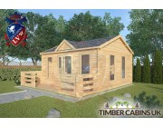 Log Cabin Cumbria 5m x 4m 002