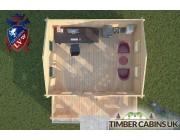 Log Cabin Cumbria 5m x 4m 004