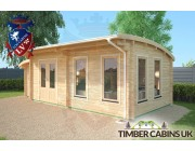 Log Cabin Derby 7.5m x 3.5m 002