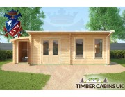 Log Cabin Derby 7.5m x 3.5m 003