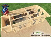 Log Cabin Derby 7.5m x 3.5m 005