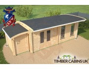 Log Cabin Derby 7.5m x 3.5m 004