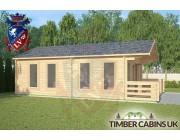 Log Cabin Dolphinholme 5m x 7m 001