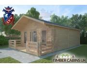 Log Cabin Dolphinholme 5m x 7m 002