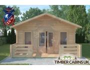 Log Cabin Dolphinholme 5m x 7m 003