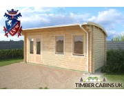 Log Cabin Doncaster 5.5m x 2.5m 002