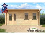 Log Cabin Doncaster 5.5m x 2.5m 004