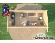 Log Cabin Doncaster 5.5m x 2.5m 006