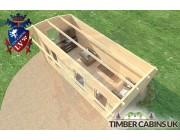 Log Cabin Doncaster 5.5m x 2.5m 005