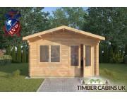 Log Cabin Downham 4m x 4m 003